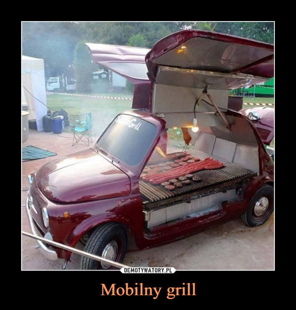 Mobilny grill –