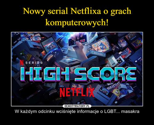 Nowy serial Netflixa o grach komputerowych!