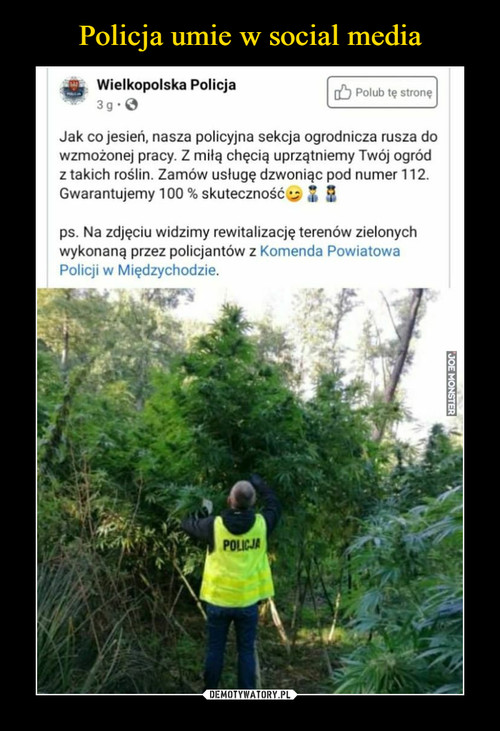 Policja umie w social media