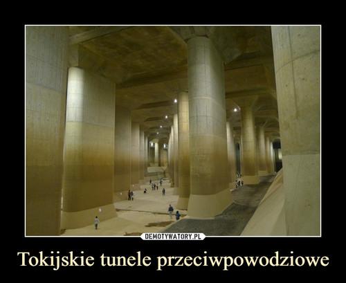 Tokijskie tunele przeciwpowodziowe