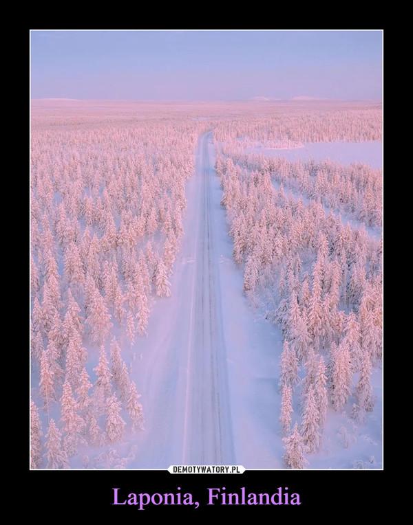 Laponia, Finlandia –