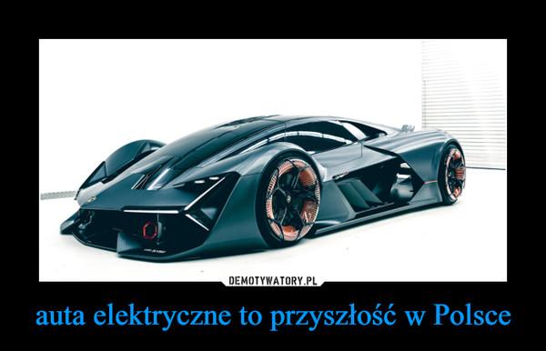 auta elektryczne to przyszłość w Polsce –