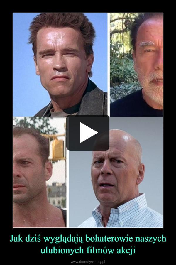 Jak dziś wyglądają bohaterowie naszych ulubionych filmów akcji –