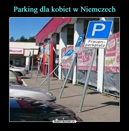 Parking dla kobiet w Niemczech