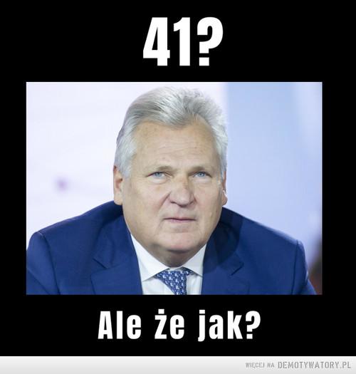 Rekord Kwaśniewskiego pobity!