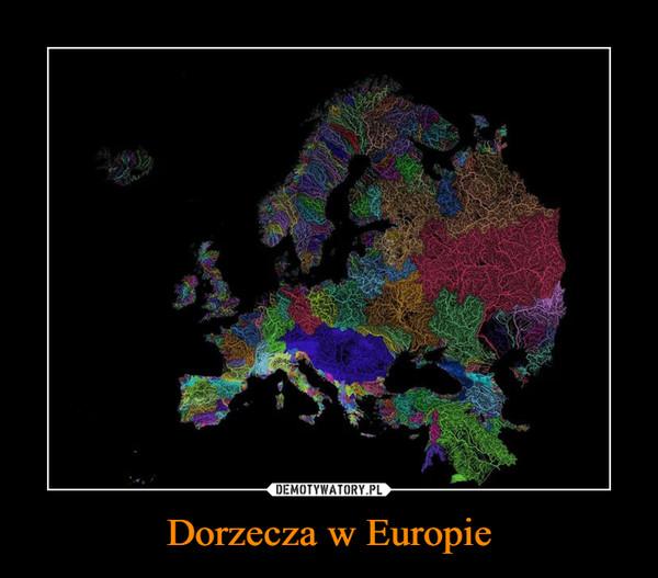 Dorzecza w Europie –