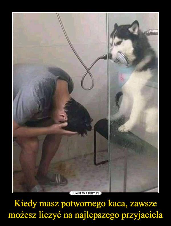 Kiedy masz potwornego kaca, zawsze możesz liczyć na najlepszego przyjaciela –