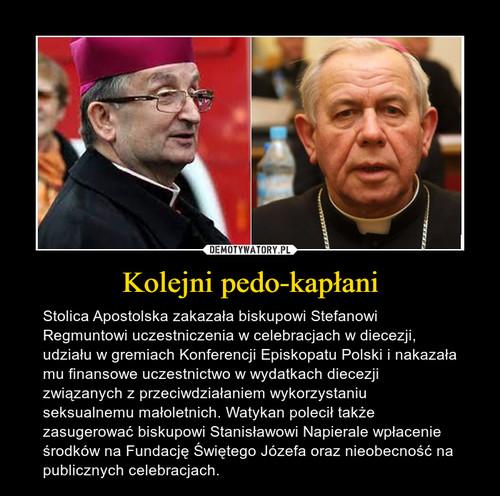 Kolejni pedo-kapłani
