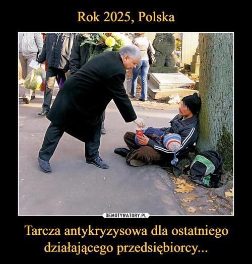 Rok 2025, Polska Tarcza antykryzysowa dla ostatniego działającego przedsiębiorcy...