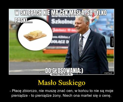 Masło Suskiego