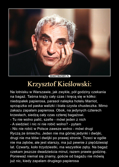 Krzysztof Kieślowski: