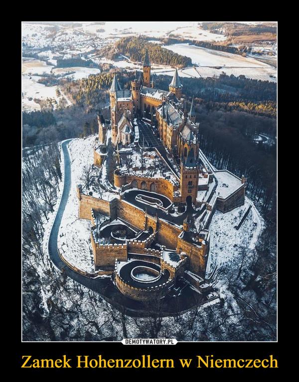 Zamek Hohenzollern w Niemczech –
