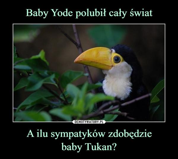Baby Yode polubił cały świat A ilu sympatyków zdobędzie baby Tukan?
